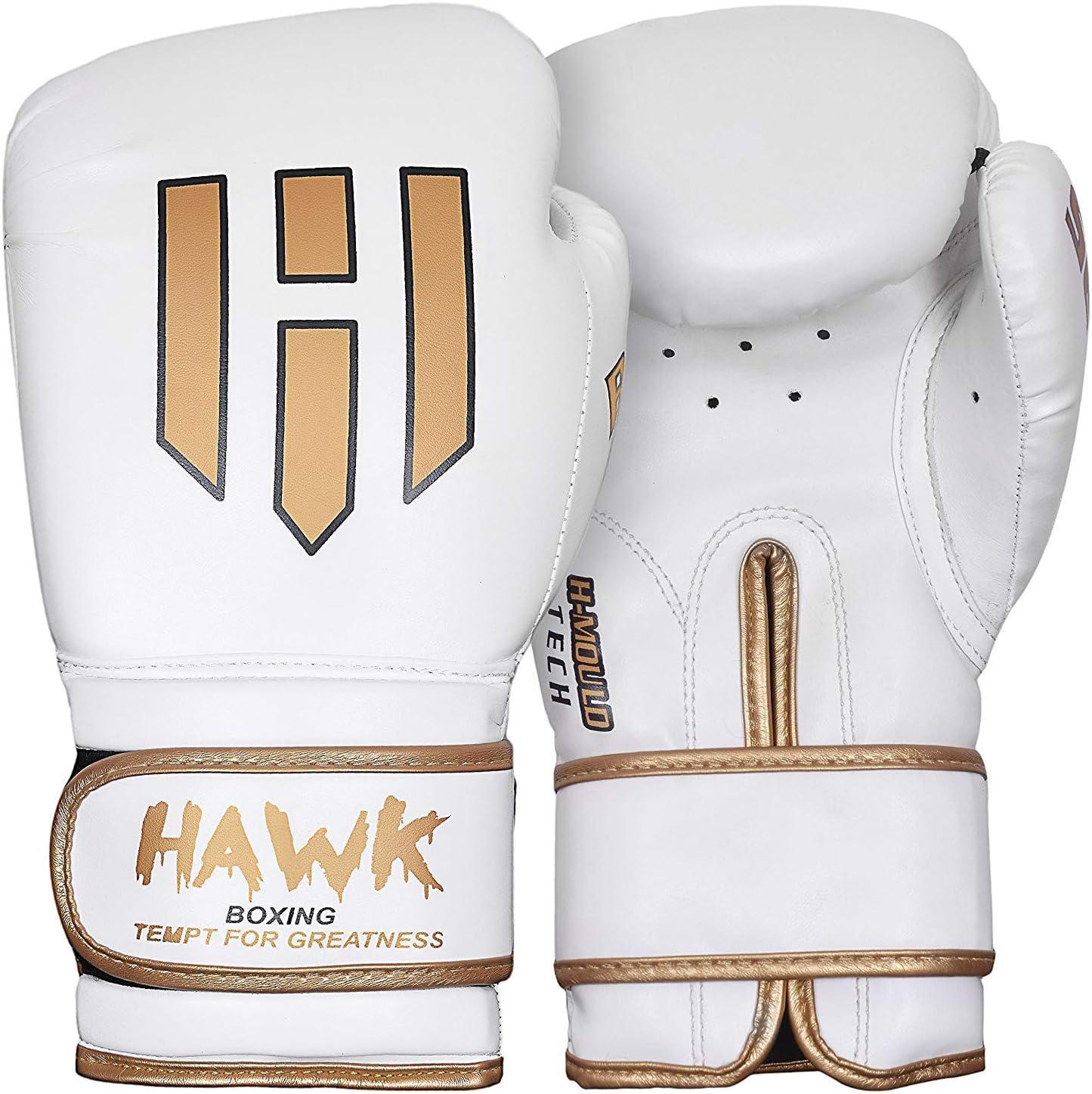 Hawk Boxing Gloves for Men & Women Training Pro Punching Heavy Bag Mitts MMA Muay Thai Sparring Kickboxing Gloves