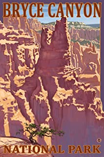 product image for Bryce Canyon National Park, Utah - Scene #1 (16x24 Giclee Gallery Print, Wall Decor Travel Poster)