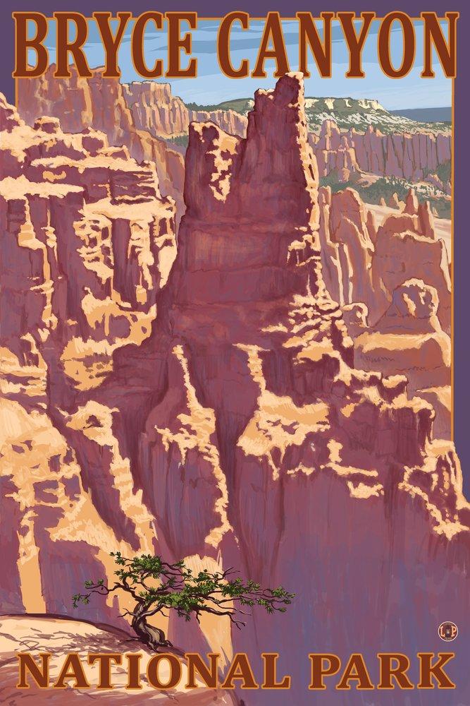 【期間限定お試し価格】 (9 x 54 12 Art 36 Print) x - Bryce Canyon National Park, Utah - Scene 1 - Lantern Press Artwork B017E9VM2E 36 x 54 Giclee Print 36 x 54 Giclee Print, ツクミシ:75f11f34 --- arianechie.dominiotemporario.com