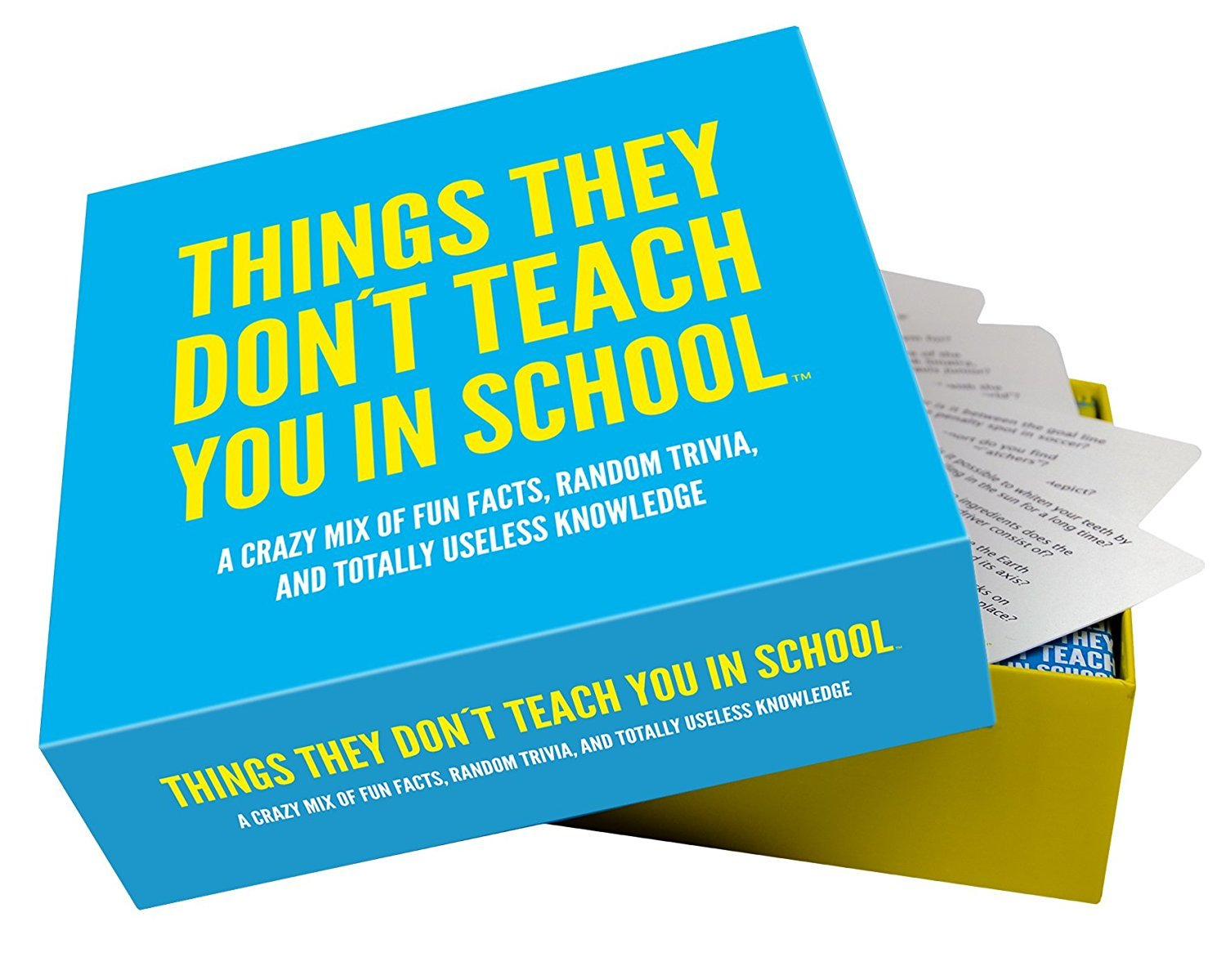 400 Quiz Questions 'Things they don't teach you in school' by Zak Designs