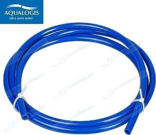 John Guest Flexible à eau 1/4' pour système à osmose inverse, réfrigérateurs, machines à expresso, distributeurs et filtres à eau Bleu 10m