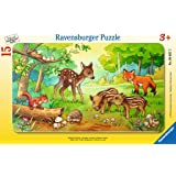 Ravensburger Animal Babies in The Forest Jigsaw Puzzle (15 Piece)