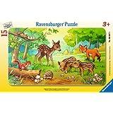 Ravensburger 06376 - Tierkinder des Waldes