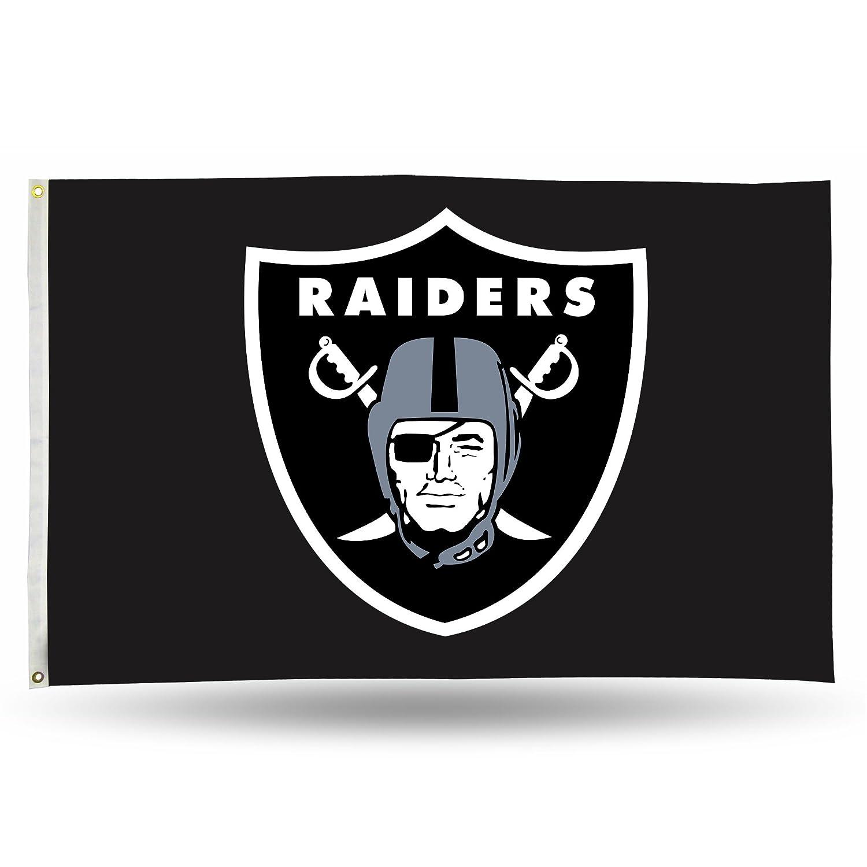 【一部予約販売】 (Oakland Raiders, 0.9m x 1.5m, Banner Black) 1.5m - NFL (Oakland Banner Flag 0.9m by 1.5m B016NZKY0G, カナシチ:cd919591 --- ballyshannonshow.com
