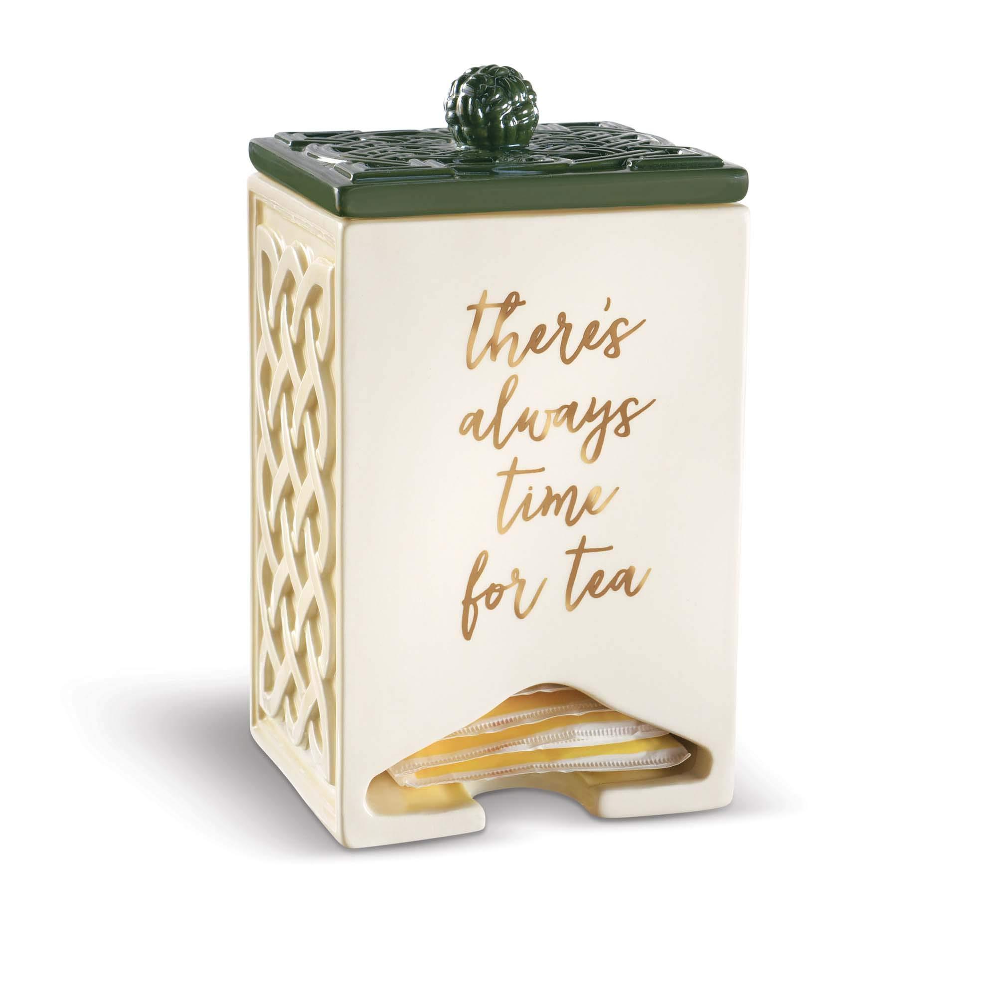 Grasslands Road There's Always Time for Tea Celtic TeaBag Dispenser by Grasslands Road