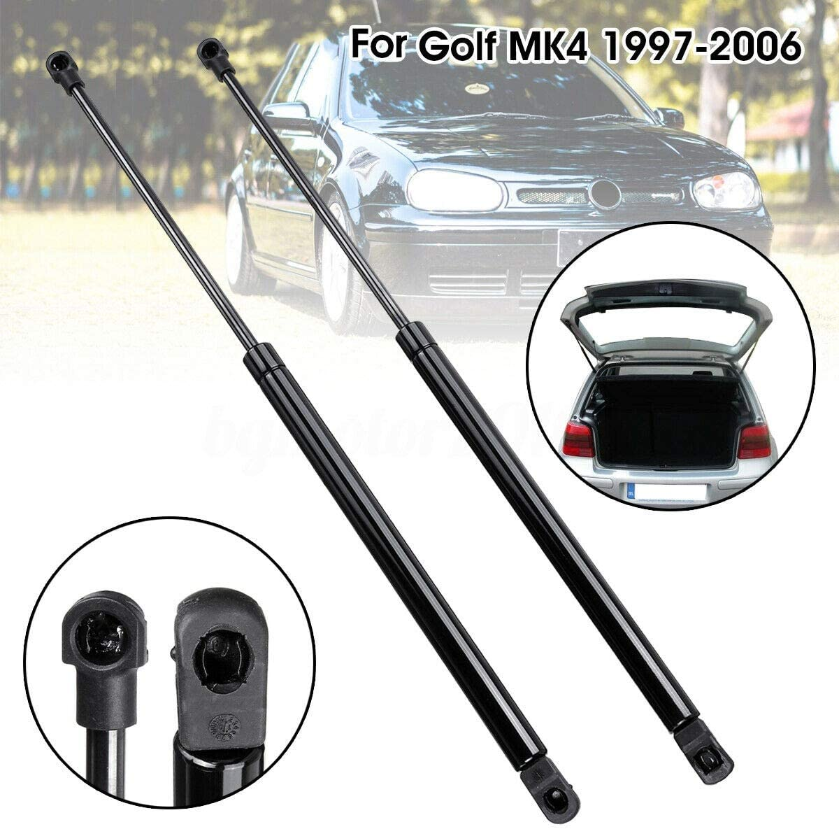 MK4 1997-2006 Semoic 2X Rear Boot Tailgate Lid Gas Spring Lift Struts Support For