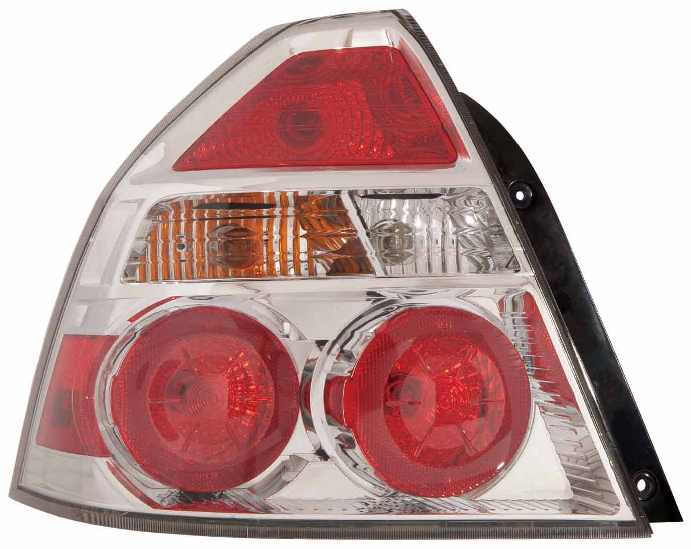 Depo 335-1932L-ASN Chevrolet Aveo Driver Side Tail Lamp Assembly with Bulb and Socket
