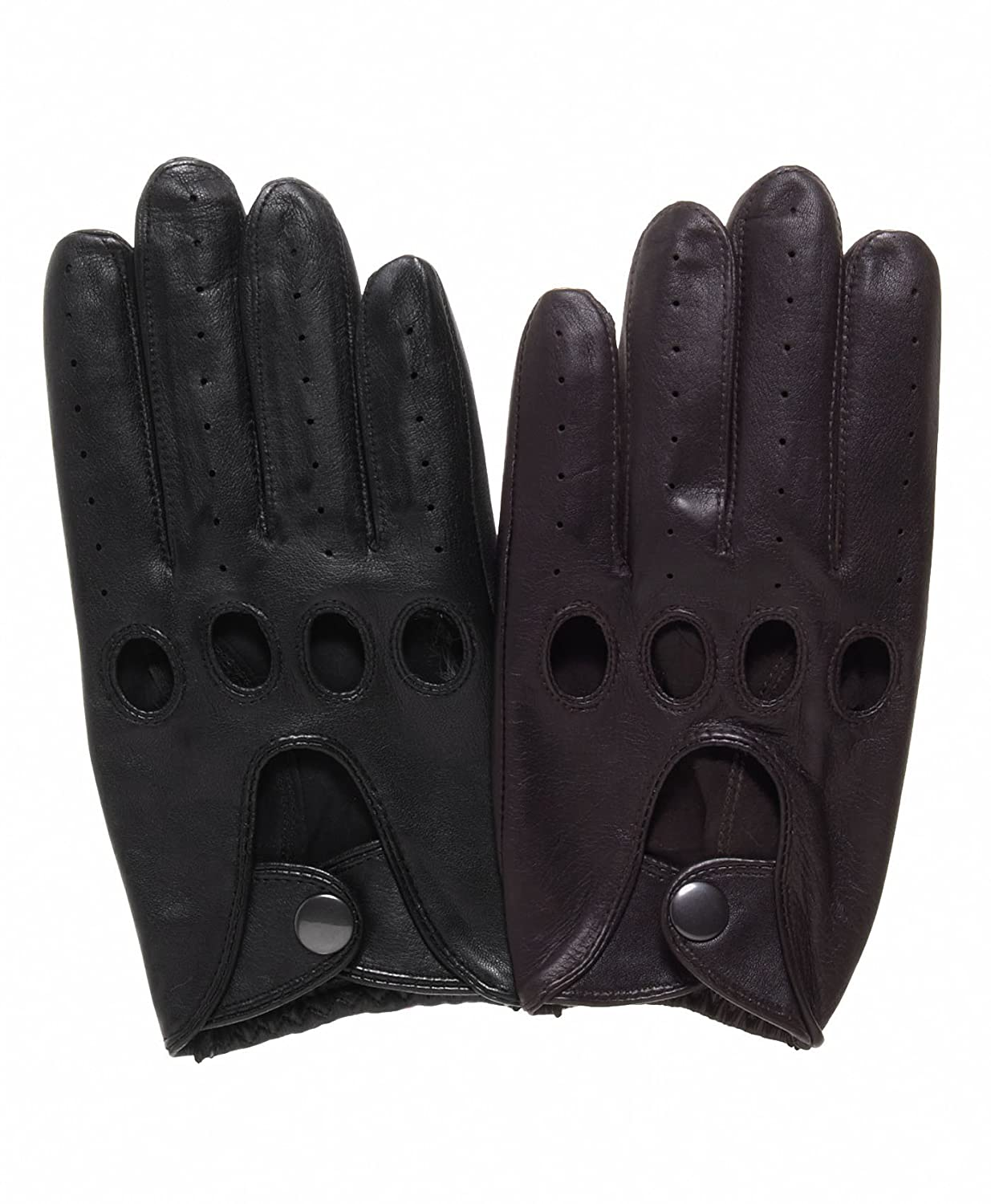 Honda leather driving gloves - Pratt And Hart Traditional Leather Driving Gloves Size S Color Black At Amazon Men S Clothing Store Cold Weather Gloves