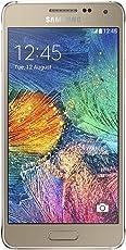 """Samsung SMG850 Galaxy Alpha Smartphone Android 4.4, Pantalla LCD de 4.7"""", Cámara Trasera 12 MP, Memoria Externa hasta 32GB, Procesador de 1.8GHz, Quad Core, dorado"""