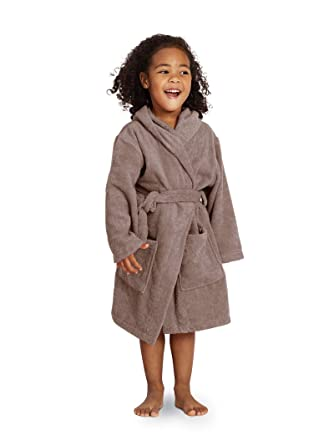 SIORO Terry Cotton Bathrobe for Kid Hooded Warm Robe Long Soft Sleepwear  Nightgown Christmas Robe Falcon e228d9238