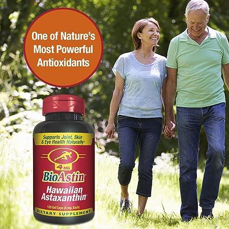bioastin hawaiianisches astaxanthin 4 mg 120 kapseln