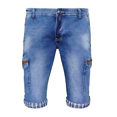 1f47a8c26796 Herren Jeansshorts Bermudas Shorts Jeans Kurz Hose 2123  Amazon.de   Bekleidung