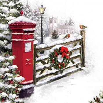 Musical christmas card pillar box open greeting card and hear 15 musical christmas card pillar box open greeting card and hear 15 20 seconds m4hsunfo