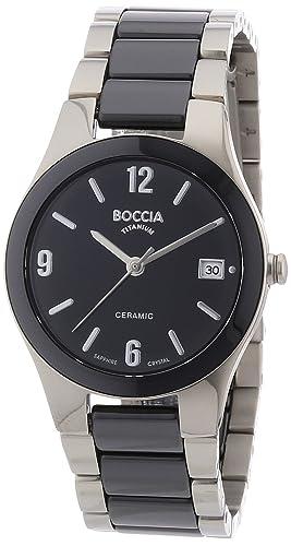 Boccia Quartz Ceramic Women's 3189 Watch 02 HED29I