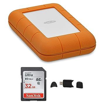 Amazon.com: LaCie - Disco duro externo portátil USB-C de 5 ...