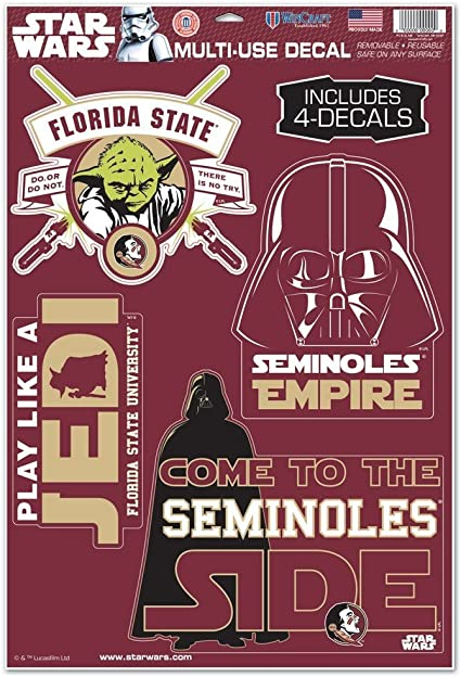 11 x 17 WinCraft NCAA Florida State University WCR62887034 Multi-Use Decal