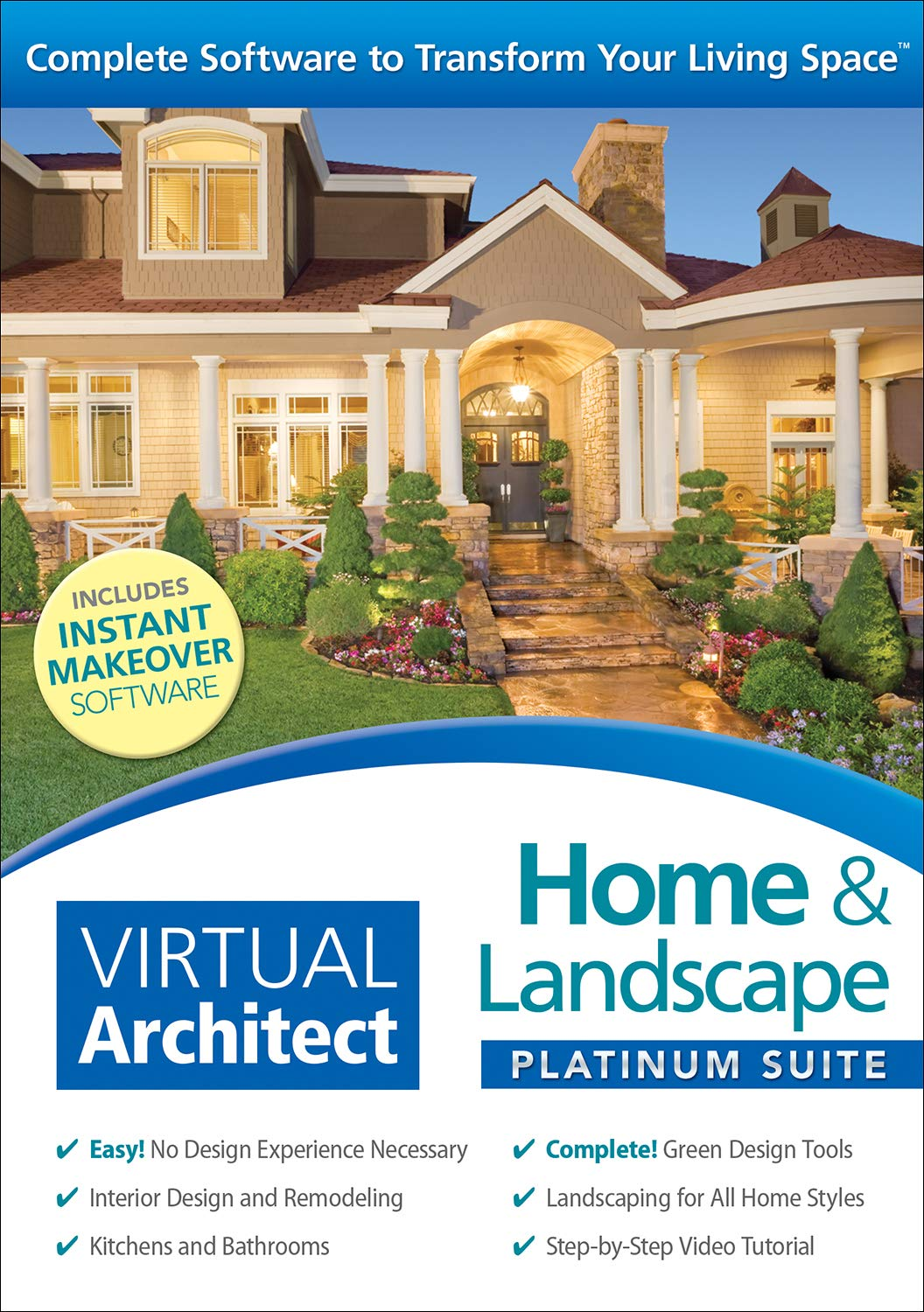 Virtual Architect Home & Landscape Platinum Suite 8.0 [PC Download] by Nova Development US