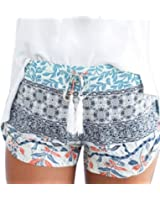 DaySeventh Women's Sexy Hot Pants Summer Casual High Waist Beach Shorts