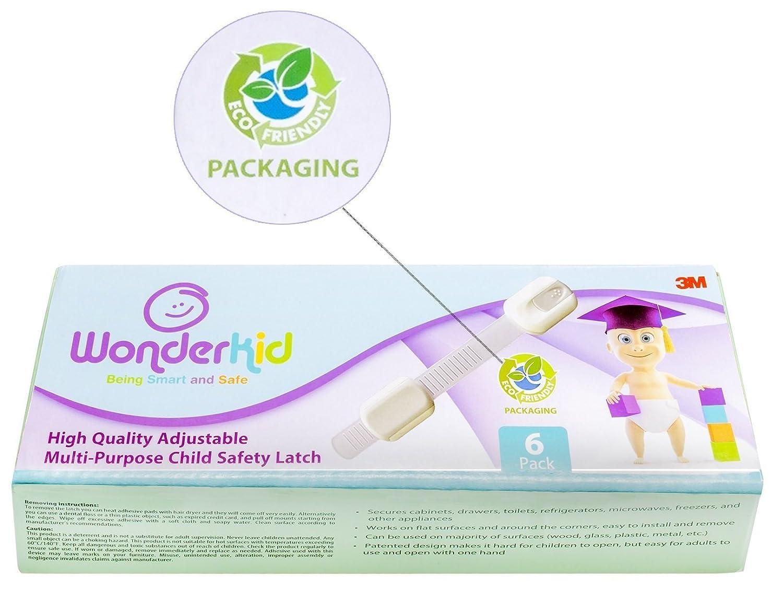 Child Safety For Cabinets Amazoncom Wonderkid Top Quality Adjustable Child Safety Locks