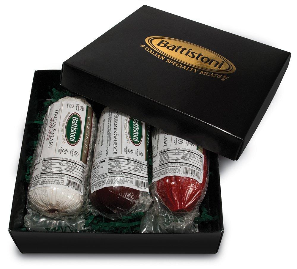 amazon com battistoni salami lovers gift box grocery u0026 gourmet