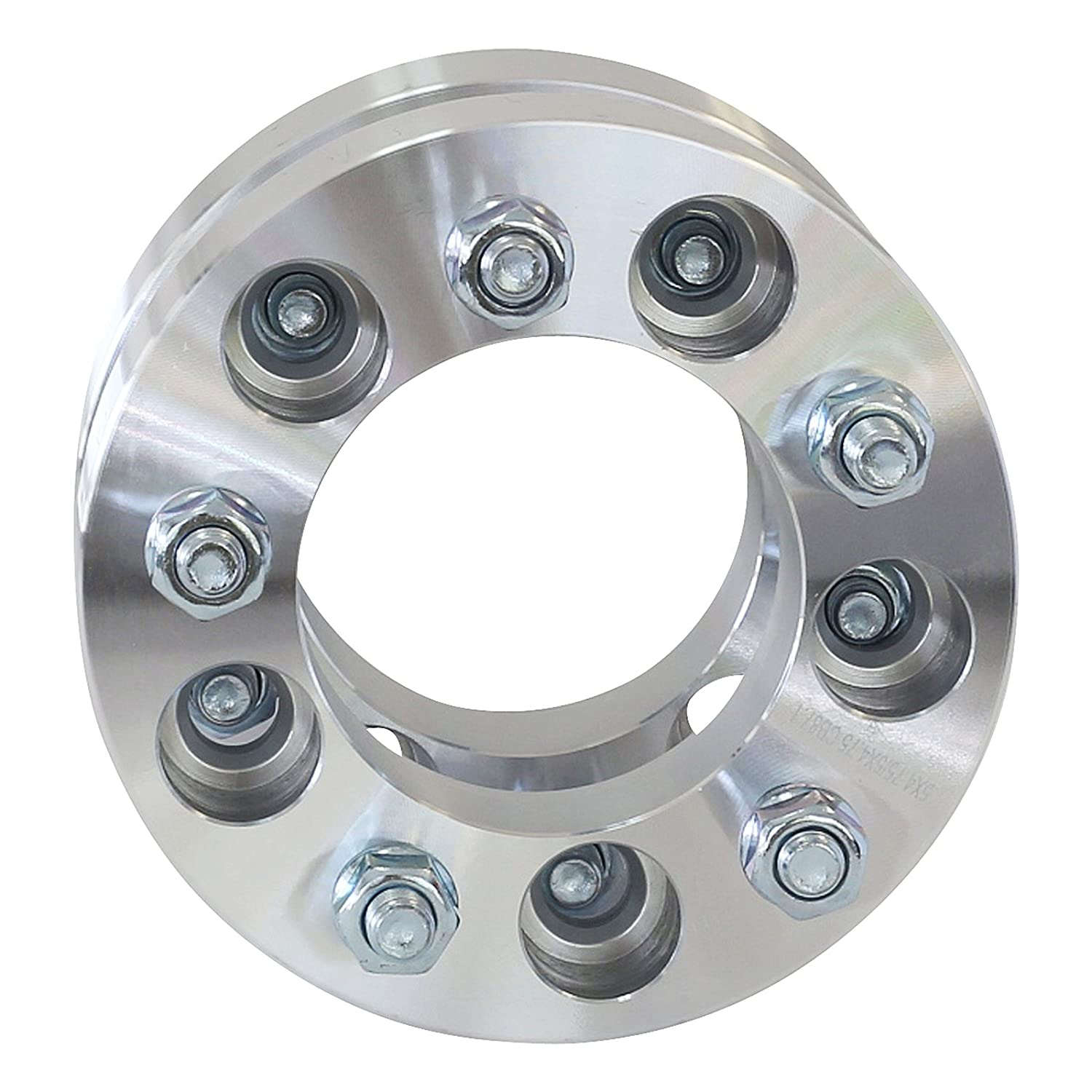 2 inch Per Side fits all 5x4.75 vehicle to 5x4.75 wheel patterns with M12 x 1.5 threads 4 QTY Wheel Spacers Adapters 4