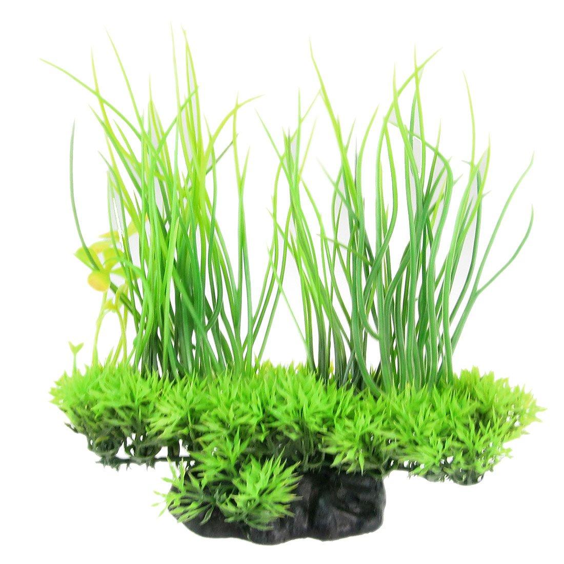 Best fish for aquarium plants - Jardin Plastic Emulational Decorative Long Leaf Plant For