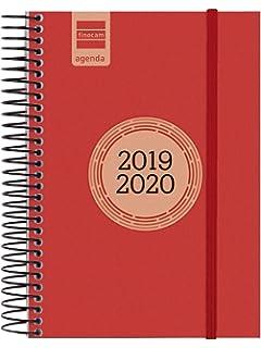 Agenda 18 meses 2019-2020 2 días página español: Amazon.es ...