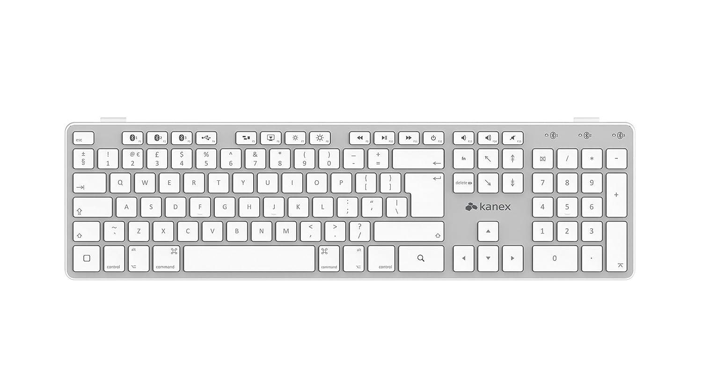 Kanex MultiSync Bluetooth keyboard with Numeric Keypad: Amazon.co.uk ...