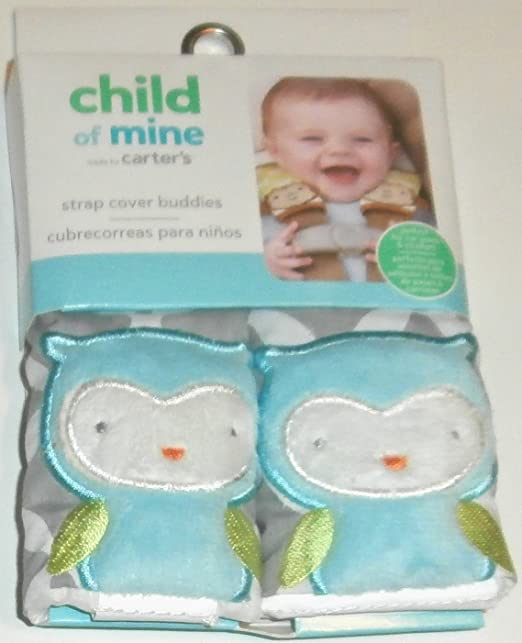 9ff2a9b38 Amazon.com: Child of Mine Owl Strap Cover Buddies: Baby