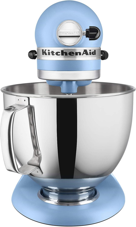 KitchenAid Artisan Series 5 cuartos. Batidora de pie con escudo vertedor: Amazon.es: Hogar