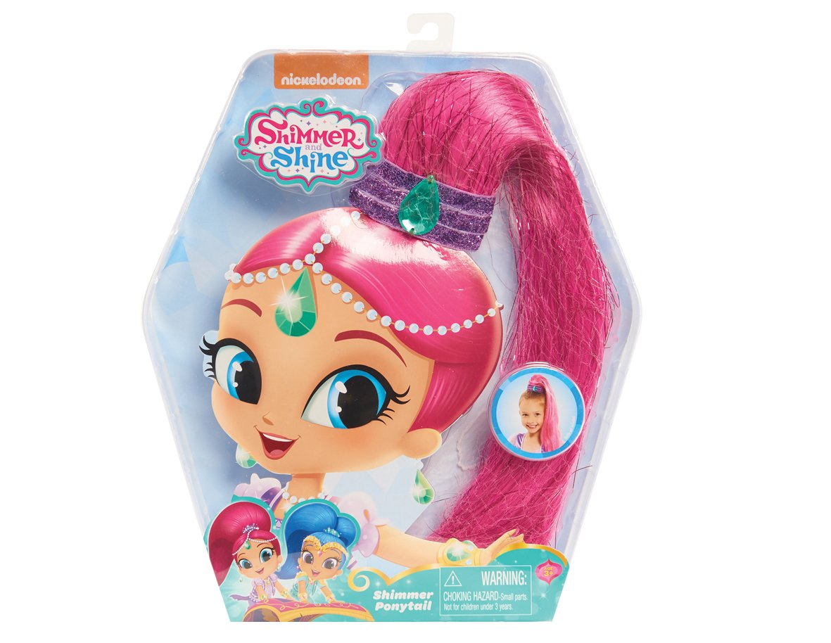 Shimmer Ponytail