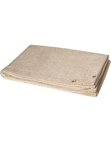 Steiner 372-10X10 Tough Guard 18-Ounce Heat Cleaned Fiberglass Welding Blanket, Tan