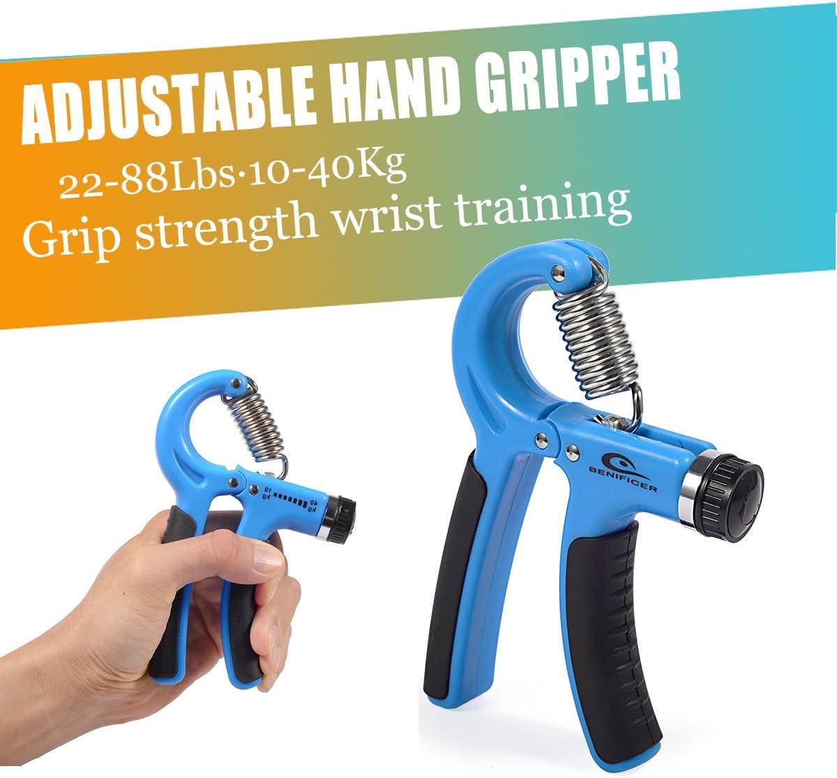 Provide The Best Hand Grip adduttori Forza Trainer Mano Ginnico Antiscivolo Gripper per Gli Atleti pianisti Bambini