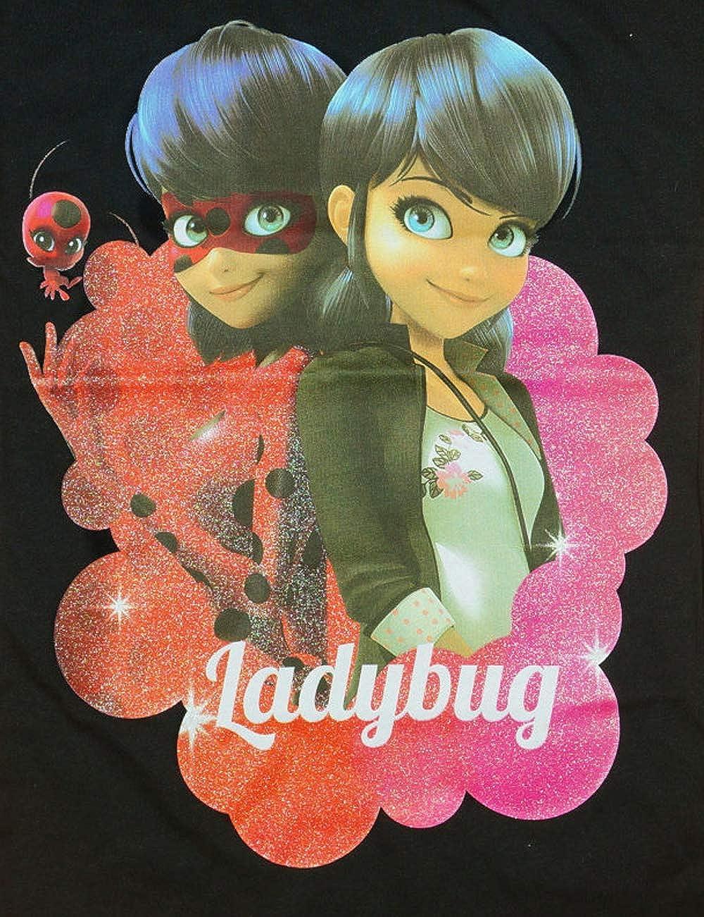 110 134 Cat Noire Disney Miraculous M/ädchen- Kurzarm-Shirt Lady-Bug T-Shirtmit s/ü/ßem Motiv 128 116 Oberteil aus Baumwolle in GR/ÖSSE 104 122 140