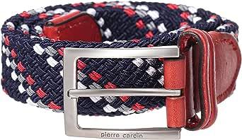 Pierre Cardin Blue Leather Belt For Men