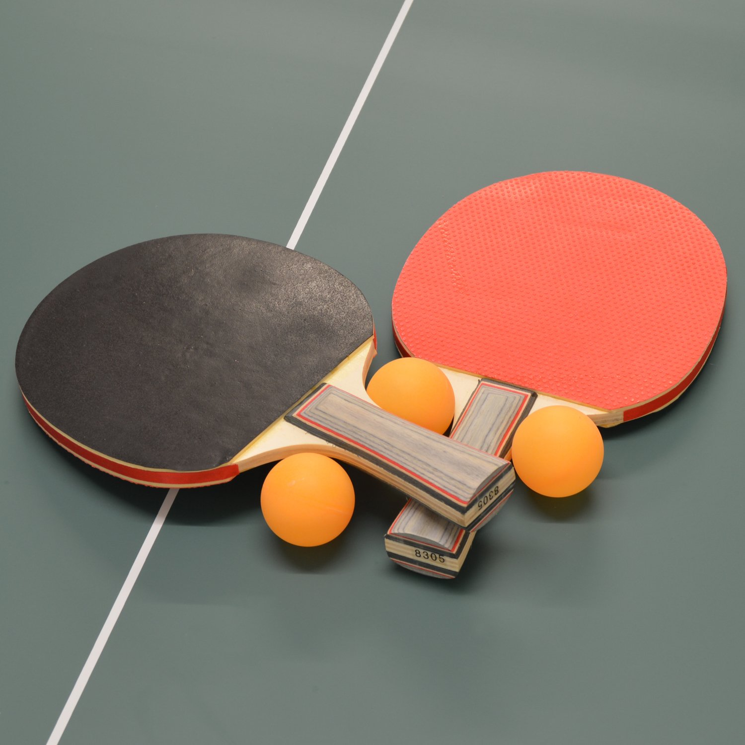 Wollowo Green 3/4 Size Junior Table Tennis/Ping Pong Table ...