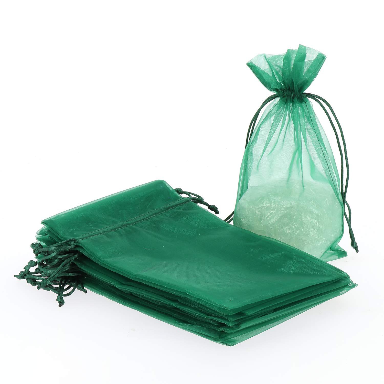 30 St/ück Organza Geschenkbeutel ca 15x25cm Geschenk S/äckchen Party Hochzeit Verpacken Schenken