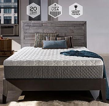 12 inch king size memory foam mattress Amazon.com: Sleep Innovations Taylor 12 inch Cooling Gel Memory  12 inch king size memory foam mattress