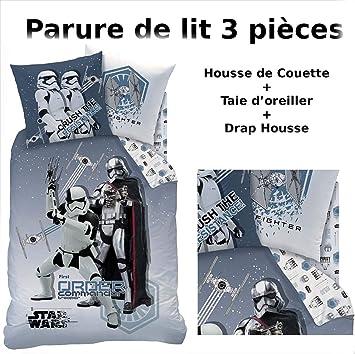 STAR WARS - LOT : Housse de Couette + Drap