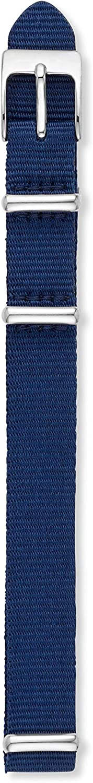 Skagen Women's 12mm Nylon Casual Watch Strap Color: Navy Blue (Model: SKB2029)