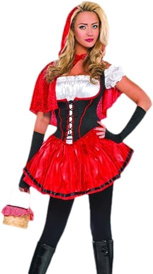 erdbeerloft – Mujer Caperucita Roja Disfraz, Cuento, carnaval,, 36 ...