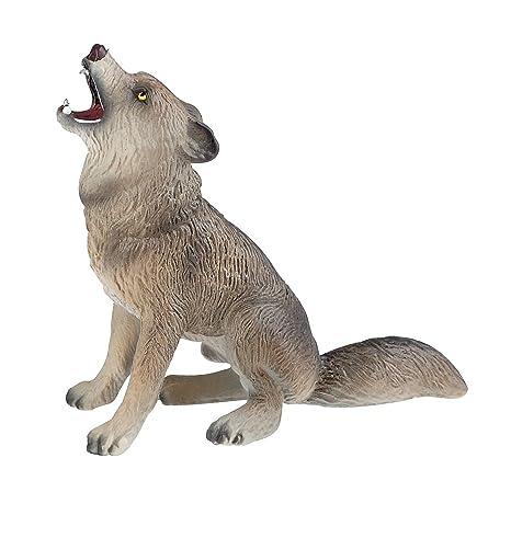 63392 Bullyland Figurine Loup Qui Hurle Amazon Fr Jeux Et Jouets