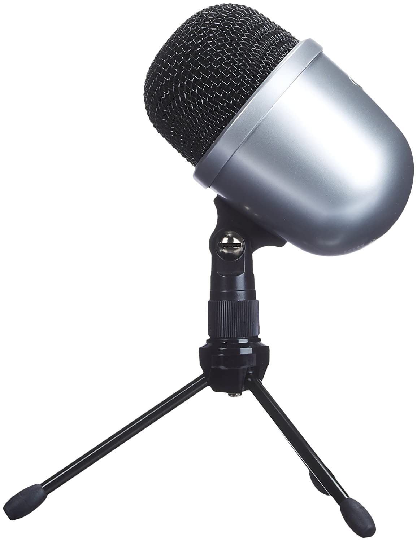 AmazonBasics Desktop Mini Condenser Microphone - White LJ-DCM-002