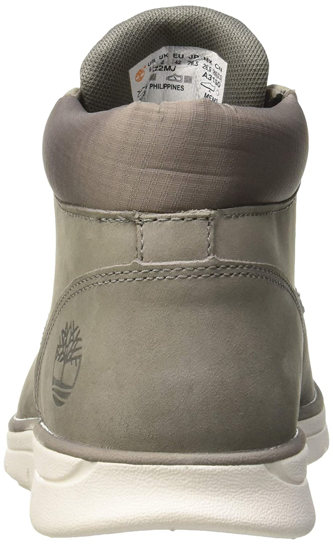 Timberland Herren Bradstreet Leather Sensorflex Chukka Boots, Grau (Steeple Grey Mjf), 44 EU