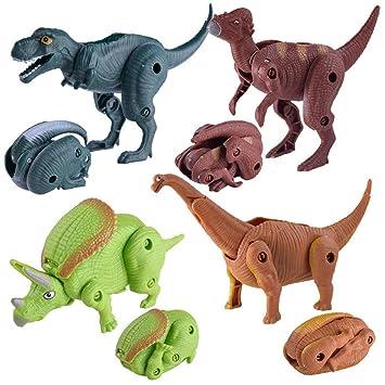 Juguete del bebé, RETUROM Colección de huevo de dinosaurio ...