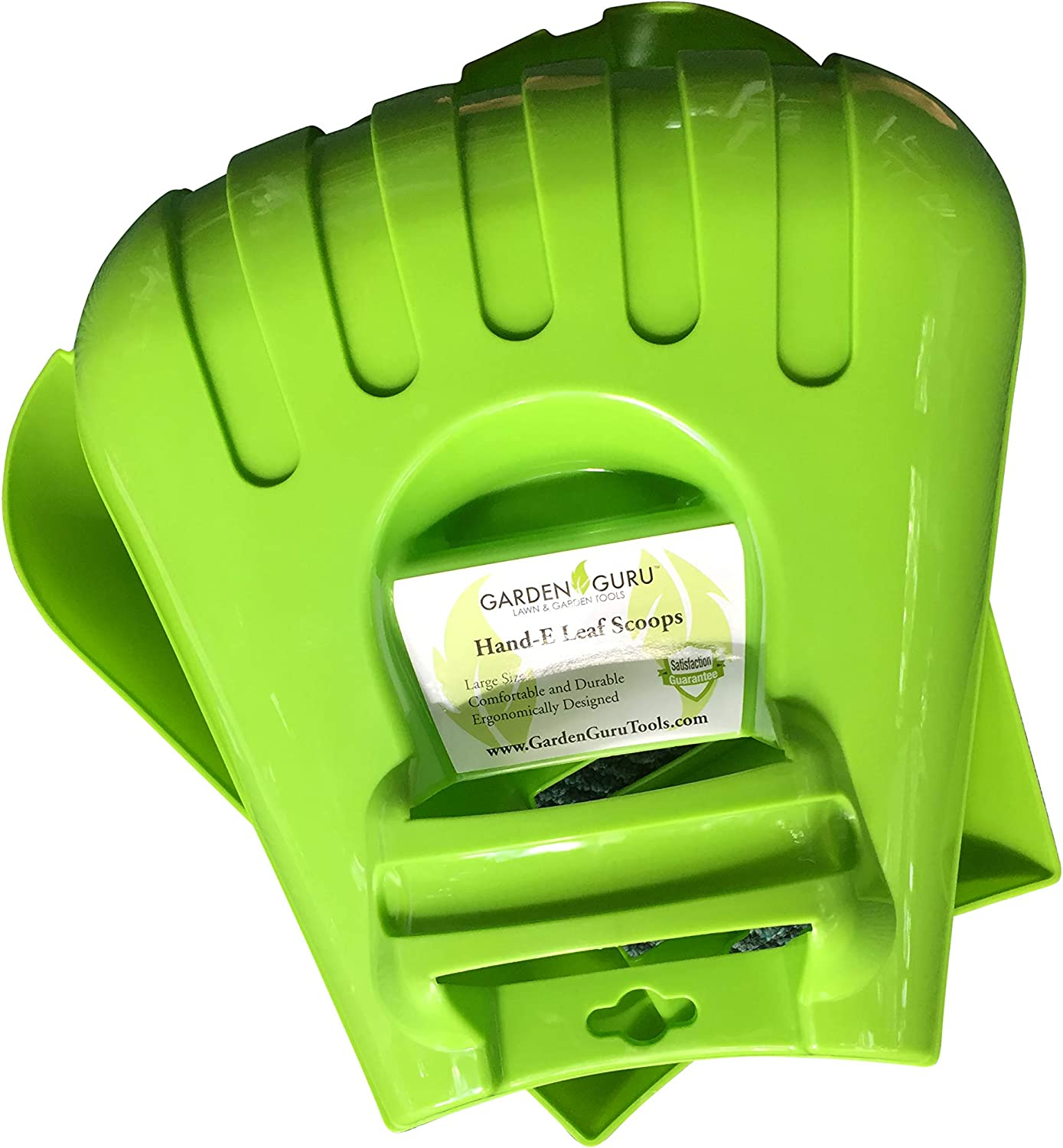 Garden Guru Leaf Scoops Claws - Ergonomic, Large Hand Held Garden Rakes for Fast & Easy Leaf and Lawn Grass Removal