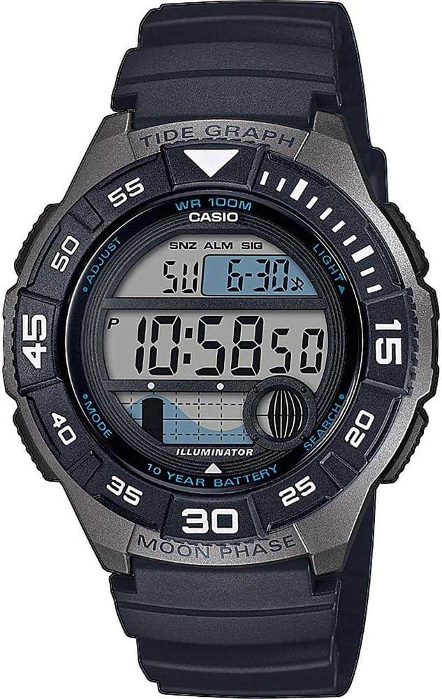 Casio Reloj Digital para Hombre de Cuarzo con Correa en Resina WS-1100H-1AVEF: Amazon.es: Relojes
