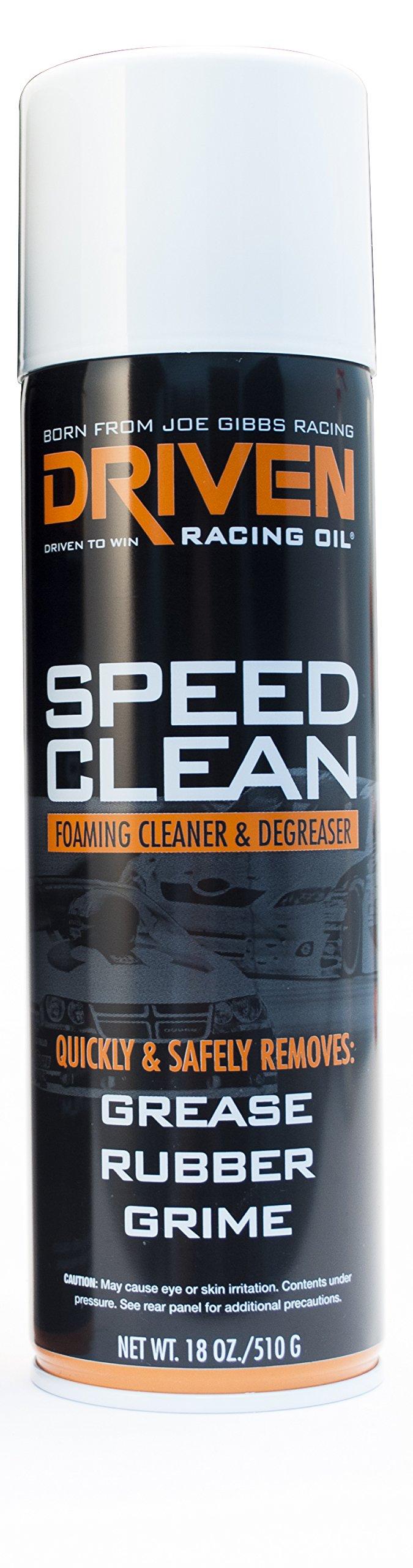 DRIVEN Joe Gibbs Racing Oil 50010 Foamy Degreaser Aerosol Can - 510g Can