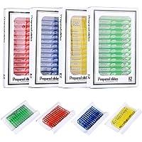 beststar Kids Plastic Prepared Microscope Slides (48pcs) Biological Specimen Kits of Animals Insects Plants Flowers…