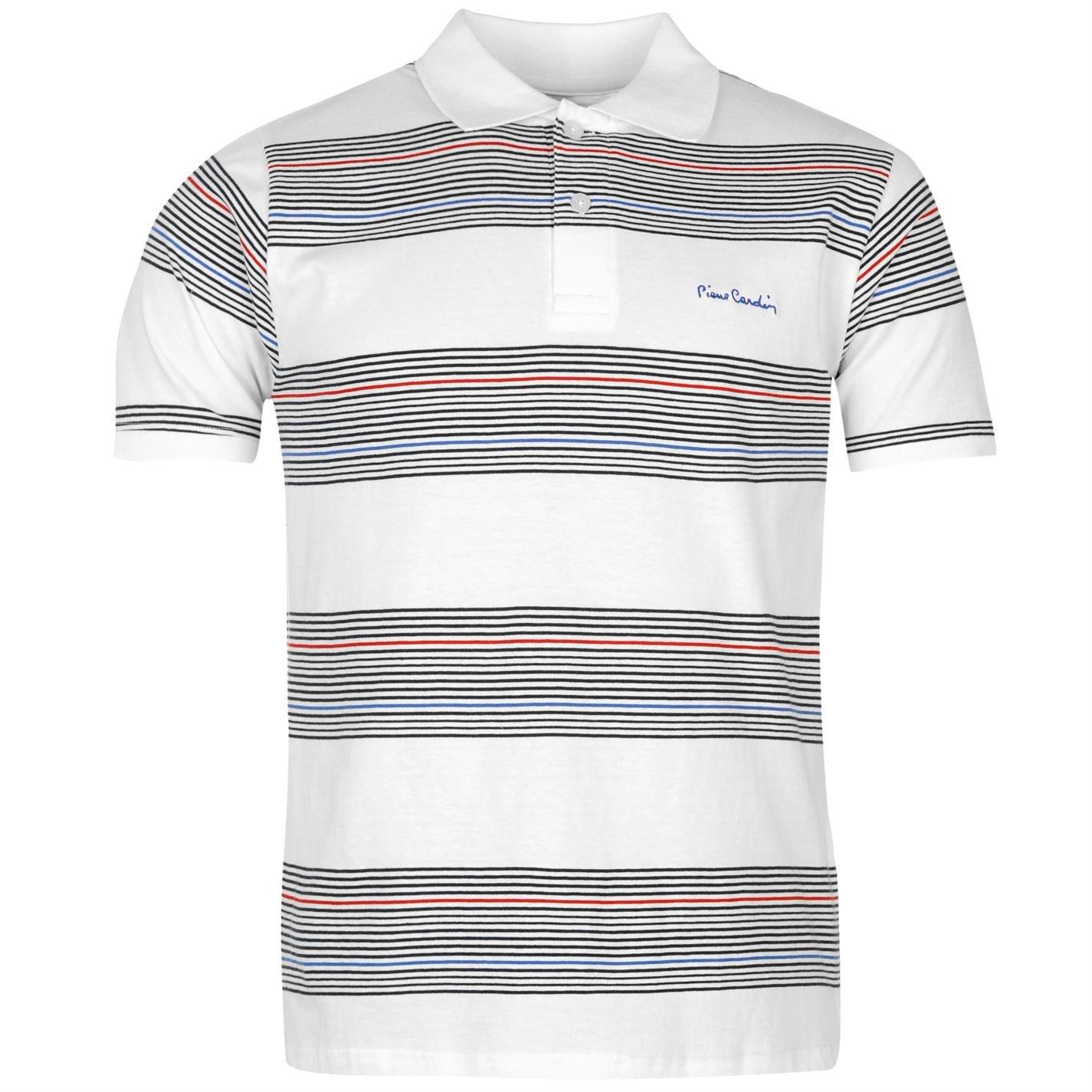 Pierre Cardin - Polo - para hombre White/Navy xx-large: Amazon.es ...